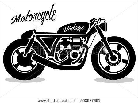 Image Associee Clip Art Vintage Motorcycle Icon Vintage Motorcycle