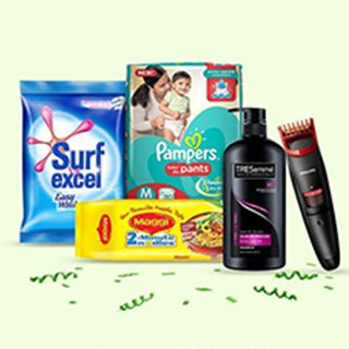 Great Indian Festival: Upto 60% Off on Daily Essential Products + Extra 10% Off on SBI Bank Debit & Credit Cards (29th Sept - 4th Oct)