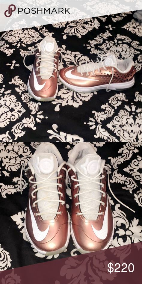 Kd 7 Eybl Limited Edition Kd 7 Elite Youth Basketball League 9 10 Condition No Box Will Negotiate Nike Shoes Sneakers Nike Gold Nike Men Nike Shoes