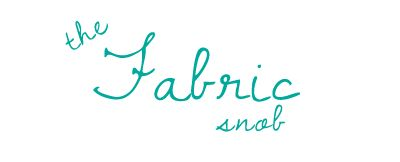 the Fabric Snob - unknown location in Canada
