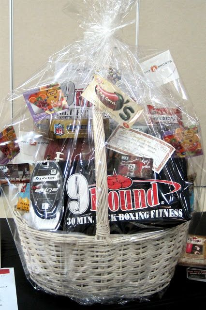 Artfully Arranged Disarray: Amazing Raffle Baskets - This one is for guys. Lots of other great raffle basket ideas on this site.