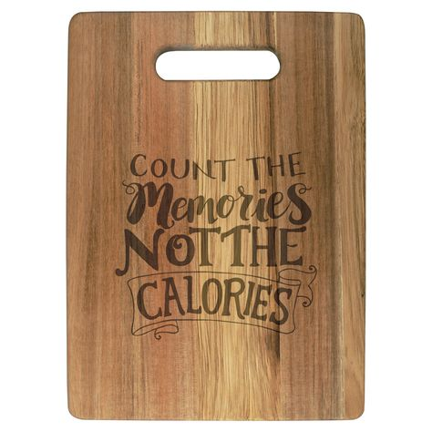 Carson Home Accents Count Memories Cutting Board Wood Burning Crafts, Wood Burning Patterns, Wood Burning Art, Wood Crafts, Engraved Cutting Board, Personalized Cutting Board, Wood Cutting Boards, Fall Wood Projects, Wood Burn Designs