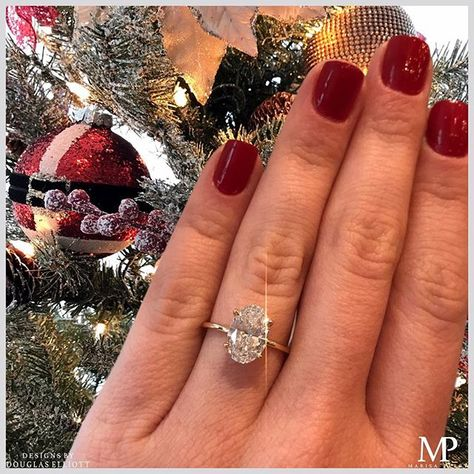 All I want for Christmas is you Featuring our carat Oval Cut DE Solitaire set in yellow gold! All I want for Christmas is you Featuring our carat Oval Cut DE Solitaire set in yellow gold!