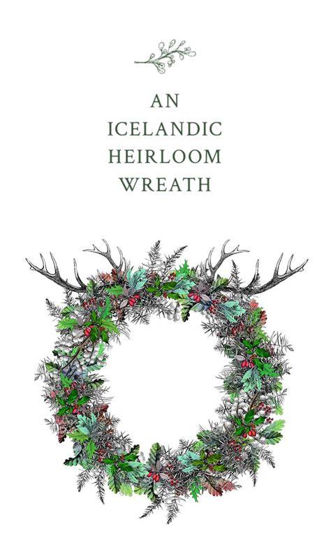 Icelandic Heirloom Wreath