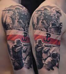 Znalezione Obrazy Dla Zapytania Patriotyczne Tatuaże