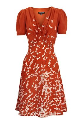 this dress has all my favorites:  right color, right a-line, right bustline ... LOVE.