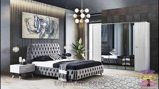 الحل الأمثل لتوزيع اثاث غرف النوم 2021 وكم يكلف صبغ اثاث غرفة النوم Luxurious Bedrooms Master Bedrooms Decor Dorm Room Decor