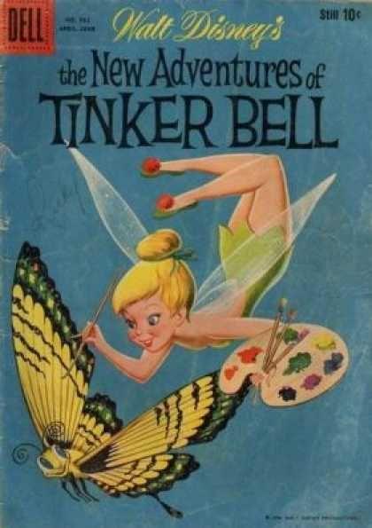 Walt Disney's The New Adventures of Tinker Bell comic book, 1959