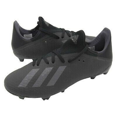 Ad Ebay Link Adidas X 19 3 Fg Football Shoes Soccer Cleats Boots Black F35381 Black Boots Football Shoes All Black Sneakers