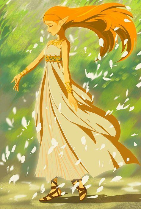 The Legend Of Zelda Breath Of The Wild Princess Zelda Video