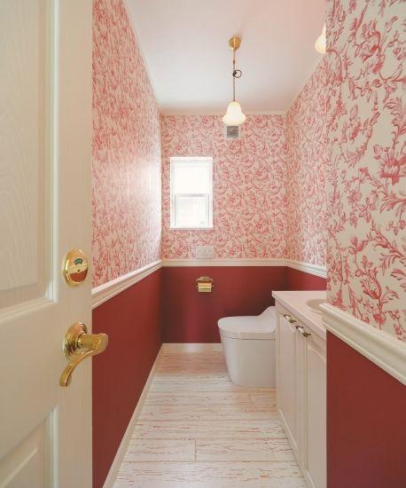 ドーマーが可愛いフォトジェニックなおうち かわいい家photo トイレ 壁紙 おしゃれ トイレ おしゃれ かわいい家