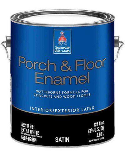 My Review Of The Sherwin Williams Porch And Floor Enamel Porch And Floor Enamel Porch Flooring Painted Concrete Floors