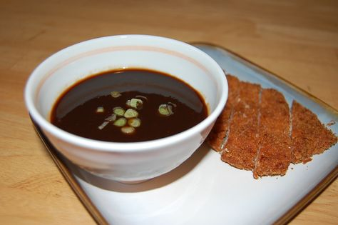 KATSU SAUCE Ingredients ½ cupsWorcestershire Sauce ¼ cupsKetchup 2 TablespoonsSoy Sauce 1 dashGround Pepper, Preparation In a small bowl, mix together all the ingredients until well combined. Drizzle over pork or chicken katsu and enjoy!