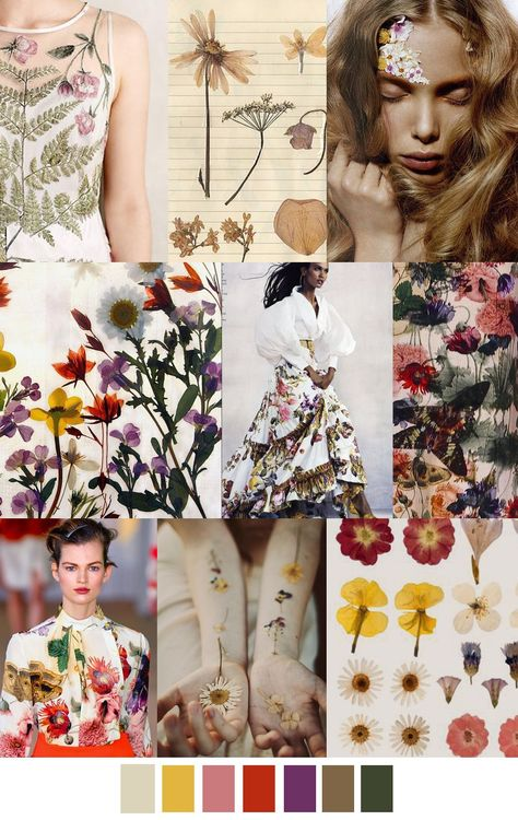 Spring Fashion Trends|the fashionable element is the vivid color of collision,and the application of a variety of flowers.