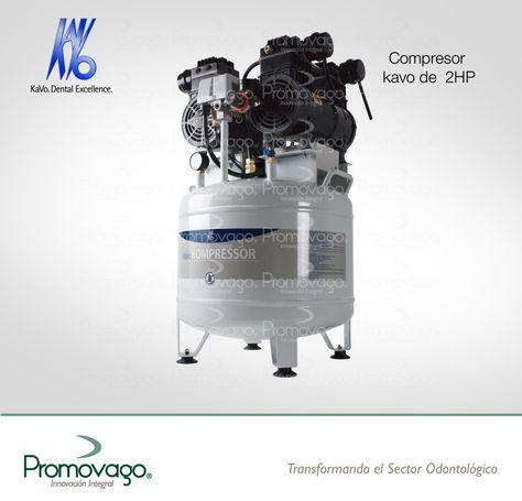 Compresor Kavo de 2 HP - Promovago