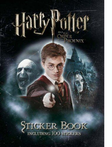 Harry Potter And The Order Of The Phoenix Sticker Activity Book Niftywarehouse Com Niftywarehouse Geek Phoenix Harry Potter Book Activities Harry Potter