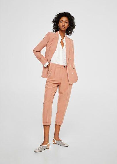 Modal Takim Pantolon Kadin Mango Turkiye Blazer Ceket Kadin Pantolon