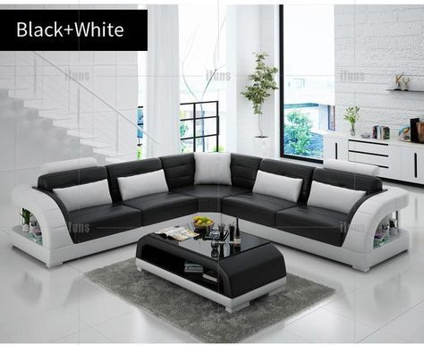 Ifuns China Export Modern Design L Shape Sectional Sofa Set Living