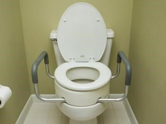 Essential Medical Supply Toilet Seat Riser With Arms For Standard Size Bowl Elongated Toilet Seat Toilet Seat Toilet