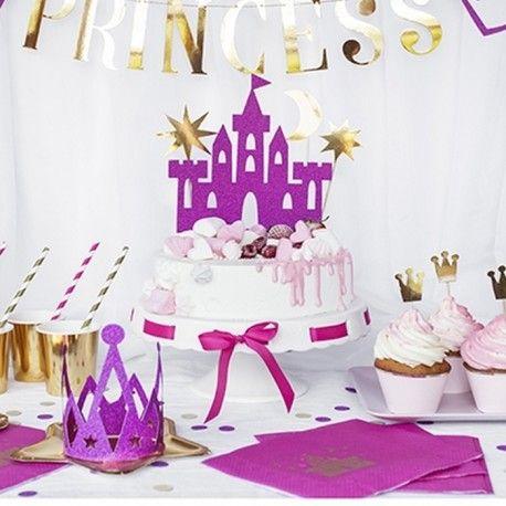 Topper Na Tort Ksiezniczka Zestaw 4szt Birthday Cake Cake Desserts