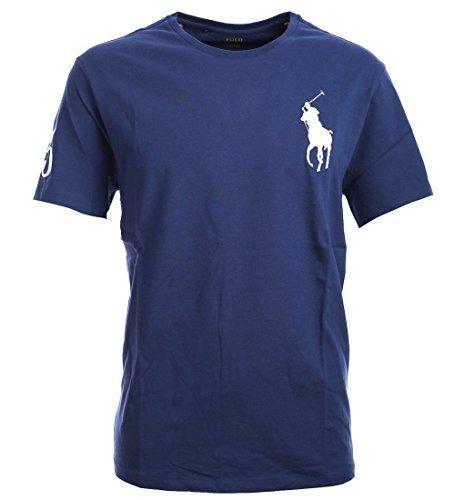 Polo Ralph Lauren Mens Crew Neck Big Pony T-Shirt   Mens crew neck ...