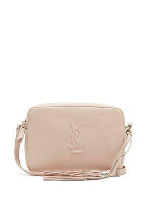 e9307dedefe Saint Laurent Monogram Lou leather cross-body bag   Style   Leather ...