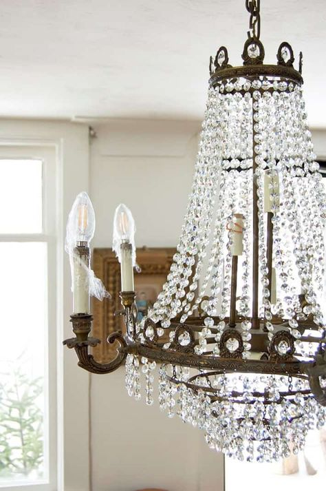 Spray On Crystal Chandelier Cleaner. (DIY it) |The Art of