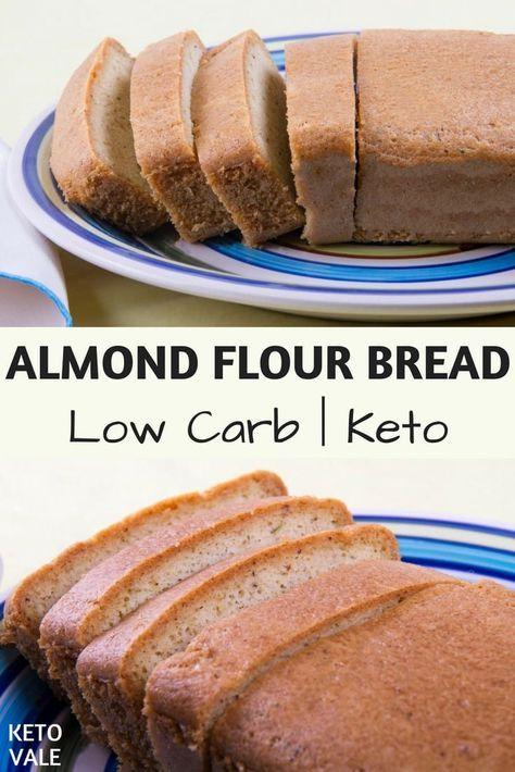 Almond Flour Bread Recipe Almond Flour Bread Low Carb Recipes Food Recipes
