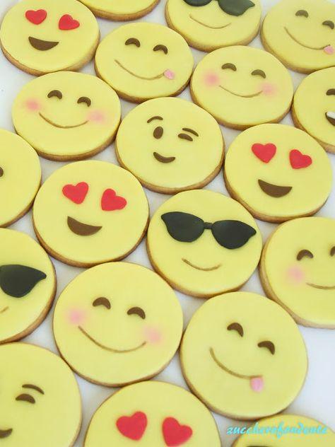 Mazzo Di Fiori Emoticon.Emoticons Cookies Biscotti Ripieni Dolci Ricette