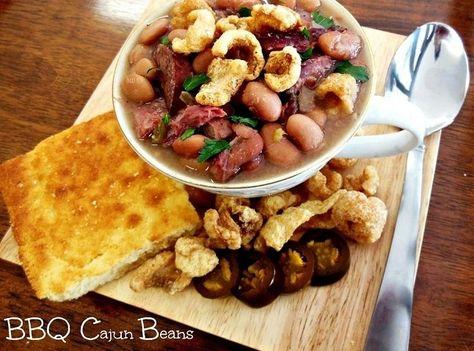 BBQ Cajun Pinto Beans