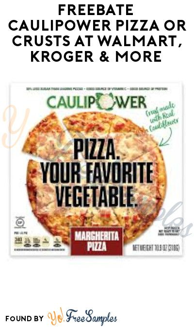 Frozen Pizza For Diabetics : frozen, pizza, diabetics, FREEBATE, Caulipower, Pizza, Crusts, Walmart,, Kroger, (Ibotta, Required), Samples, Healthy, Frozen, Meals,, Snacks,, Network, Recipes