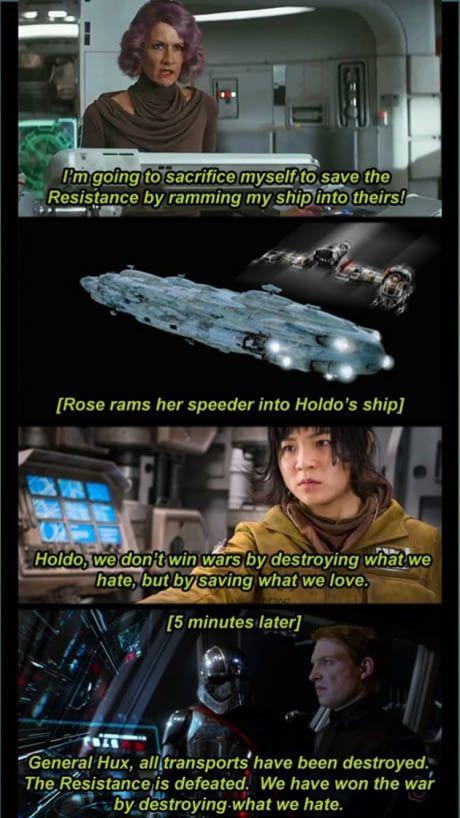 Jar Jar Rose Star Wars Facts Star Wars Memes Star Wars Humor
