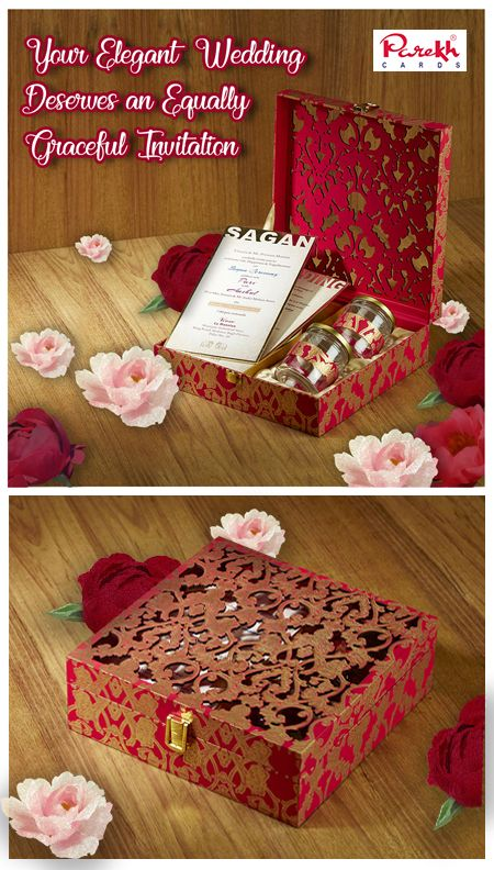This Grand And Royal Invitation Card Box Hamper Is Created To Ex Indian Wedding Invitation Box Indian Wedding Invitation Cards Simple Wedding Invitations Cheap