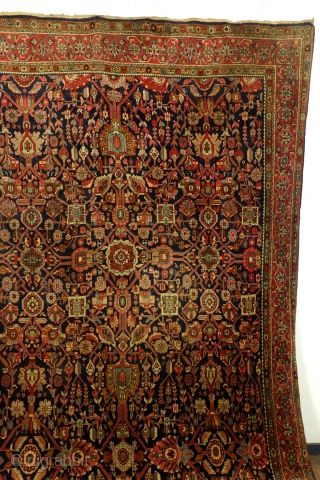 Bidjar 80 To 90 Years Old In Splendid Condition 13 Mm Thick Full Pile Half An Inch Great Colors Size 335 X 225 Cm 11 1 Rugs And Carpet Pile Woven Rug