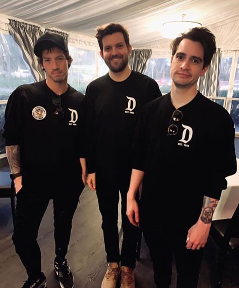 Brendon Urie of Panic! At The Disco, Josh Dun of Twenty One Pilots, and Dillon Francis | 4.12.19