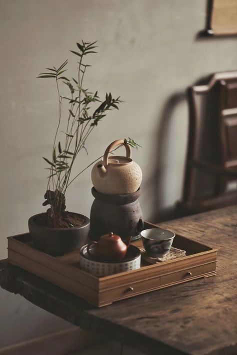 MoriMa Tea is an online Chinese Tea retailer and wholesaler, our office is located in the beautiful and charming Chinese coastal city - Xiamen. Japanese Home Decor, Japanese House, Japanese Decoration, Japanese Interior Design, Wabi Sabi, Zen Tea, Tea Culture, Japanese Tea Ceremony, Tea Tray