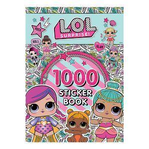 Lol Surprise 1000 Stickers Target Australia Sticker Book Book Activities Entertaining Books