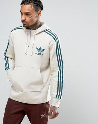 adidas Originals AC Terry Hoodie In Beige BK7193 | Bape