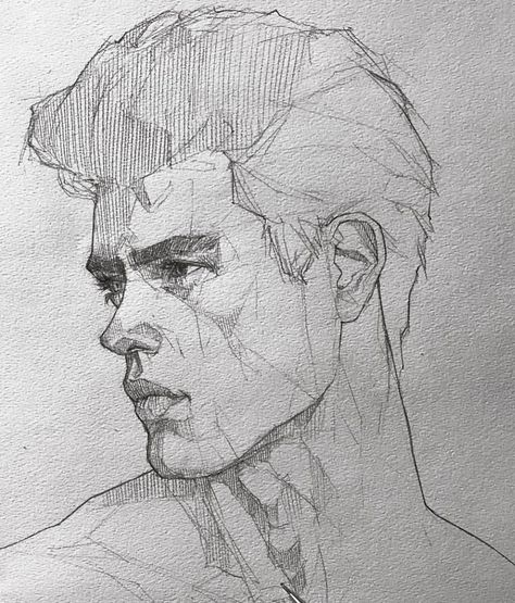 """Efrain Malo on Instagram: """"What's more difficult to draw for u? 👱♂️or 👱♀️ #maloart #sketching #graphgear1000"""""""