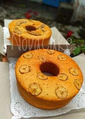 Resep Kue Bolu Pisang Panggang Nikmat | ResepMembuat.Com