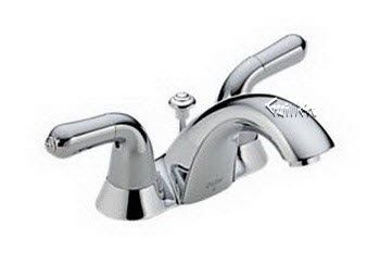 Delta Lav Faucet Order Replacement Parts For Delta 2530 Two Handle Lever Peerless P299695lf Lavatory Fa In 2020 Gooseneck Kitchen Faucet Bathroom Faucets Best Faucet
