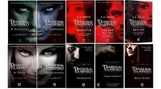 Livros Diarios De Um Vampiro Colecao Completa Em 2020 Vampire