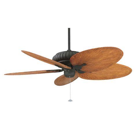 Fanimation Bkit Fp4320tb1 Bpp4br Belleria Ceiling Fan W Brown