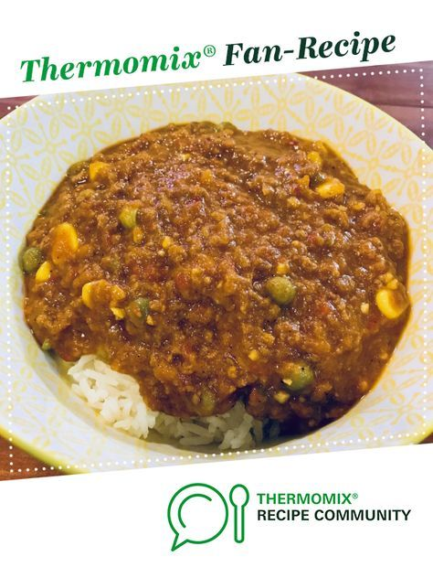 Curried Mince With Rice Recipe Thermomix Recipes Recipes Fan Recipe