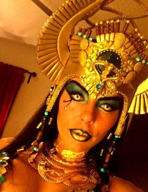 Egyptian Headdress Inspiration Burning man Fantasy Fest | Etsy