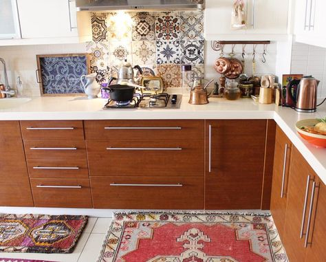 tiles and rugs