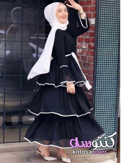 دريسات محجبات لصيف 2019أفكار عصرية فساتين محجبات خروج تفصيل فساتين محجبات خروج Kntosa Com 29 19 156 Ruffles Fashion Dresses Maxi Dress