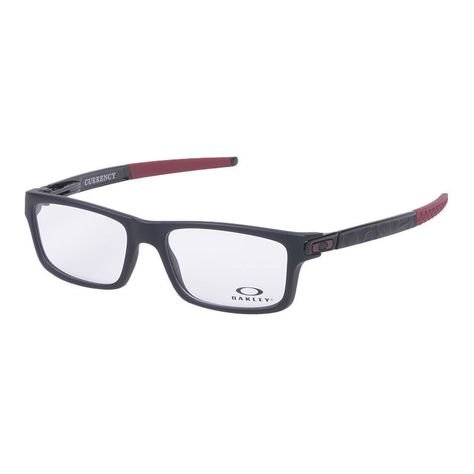 9d63120e22 Eyeglass Frames-Oakley CURRENCY OX8026-1254 Black Vintage Glasses Eyewear  Specs  fashion  health  beauty  visioncare  eyeglassframes (ebay link)