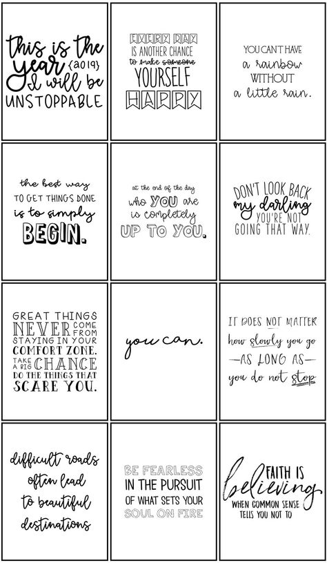 Amazing life quotes for inspiration free printable cards – Artofit