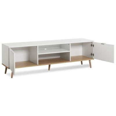 goteborg meuble tv scandinave blanc l